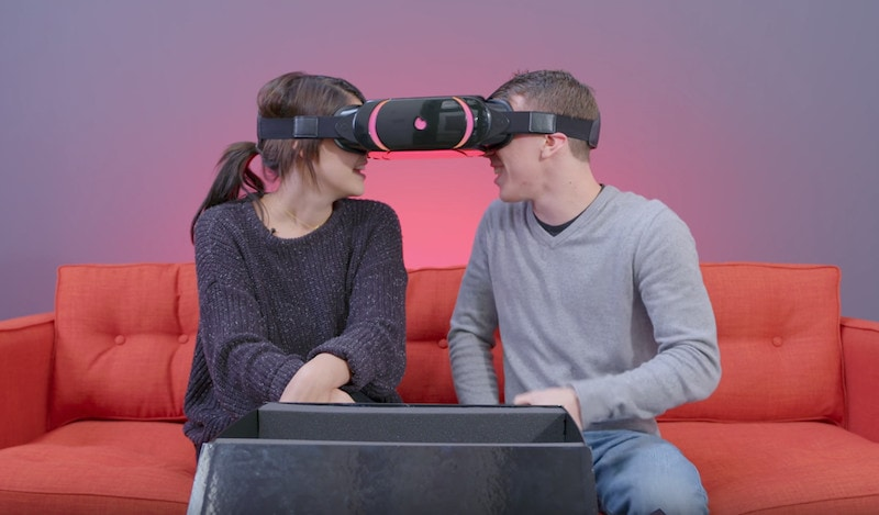 Tinder's VR headset