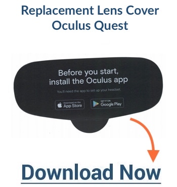 replacement cover lens for Oculus Quest